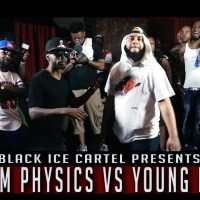 QP VS YOUNG KANNON || BLACK ICE CARTEL || LIFE BEHIND BARS || RAP BATTLE