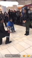 She Said No: Man Tries To Propose To His Girl & She Leaves Him Embarrassed!