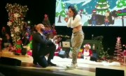 Joe Budden Proposes to Cyn Santana On Stage