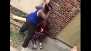 Child Abuse? Woman Beats The Hell Out Of Her Terrified Son With A Belt!