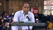 Stephen A. Smith Says James Harden Looks Like The Best Offensive Player In Football!