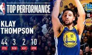 Klay Thompson Scorches The Net From Long-Range | January 21, 2019