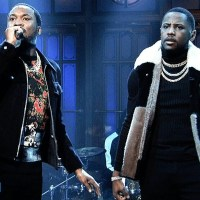 Meek Mill: Going Bad/Uptown Vibes (Live) - SNL