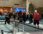 Chaos At Orlando Airport After A Man Alarms Passengers At Security Checkpoint!