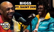 Biggs Burke Return to Management + Saint JHN Explains His Path to a Mint Green Moncler Coat