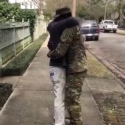 Reunion: Soldier Surprises His Father!