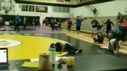 What Was He Doing There? Teen Falls Through Gym Ceiling During High School Wrestling Match In Florida!