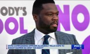 NYPD doing internal review after officer allegedly tells cops to shoot rapper 50 Cent `on sight`
