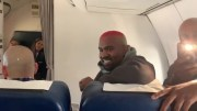 Kanye West Had Sunday Service 40,000 Feet In The Air Recently!
