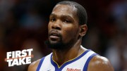 Stephen A. Smith Reacts To Kevin Durant Declining $31.5M Player Option, Will Become Free Agent!
