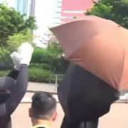 Not Having It: Hong Kong Protestors Take Down & Destroy Facial Recognition Towers!