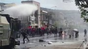 Chaos: Protesters Clash With Police In Chile!