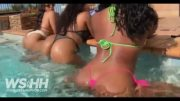 Megan Thee Stallion Twerks To Pop Smoke's 'Diana' In The Pool!