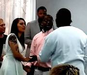 """Wasn't Having It: Pops Pulls Up And Crashes His Sons Wedding! """"I Know You're Not Serious Man"""""""