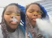 Kids Stress Too? Where's CPS: Little Girl Says She Smokes Cause She Stays Stressed Out