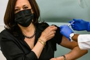 """Kamala Harris Receives 1st Dose Of Moderna COVID-19 Vaccine! """"That Was Easy"""""""