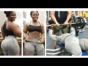 Beast Mode: Sis Ain't Playing No Games With These Weights!