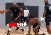 Dwyane Wade Gets Intense With His Son…. Training Him For The NBA!