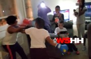 They Ain't Playing: Father Lets His 2 Kids Box It Out With Gloves After they Had A Bone To Pick With Each Other!