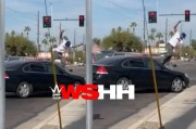 Wild Arizona Road Rage: Buddy Was Hella Upset That Get Got Cut Off… Hits The Man Head On With His Whip!