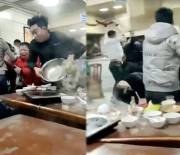 Everybody Was Kung Fu Fighting: Group Of Chinese People Engage In An All Out Brawl Inside A Ramen Noodle Restaurant!
