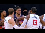 Paul George Wanna Fight Devin Booker After Book Calls Him:Soft Ass N***A!