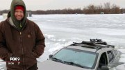 SMH: Dude Drifts His Car On Frozen Ice & Things Went Bad To Worse!