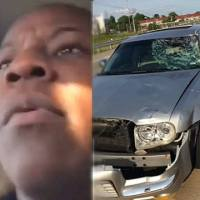 [:en]That's Foul AF: These Boys Were So Turnt Up That They Hit A Construction Worker On The Highway & Didn't Even Realize It![:]