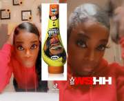 She's Broken: Woman Put Gorilla Glue In Her Hair… Thinking It Was Gorilla Gel & Now Stuck With One Look!