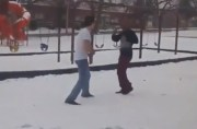 Straight Violated: Dude Gonna Wake Up With Frostbite After This Beatdown!