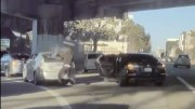 Just Like That: Highway Robbery Caught On Tesla Cam In San Francisco!
