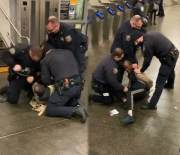 Lost Complete Control: NYPD Officer Caught On Camera Punching A Man in The Head Numerous Times During An Arrest!