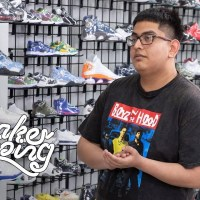 Superfan Miguel Lopez Zaragoza Goes Sneaker Shopping With Complex