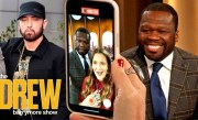 50 Cent and Drew Record a Special Video Message for Rapper Eminem