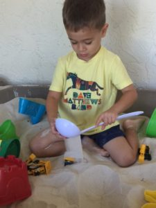 Sandbox Construction Trucks