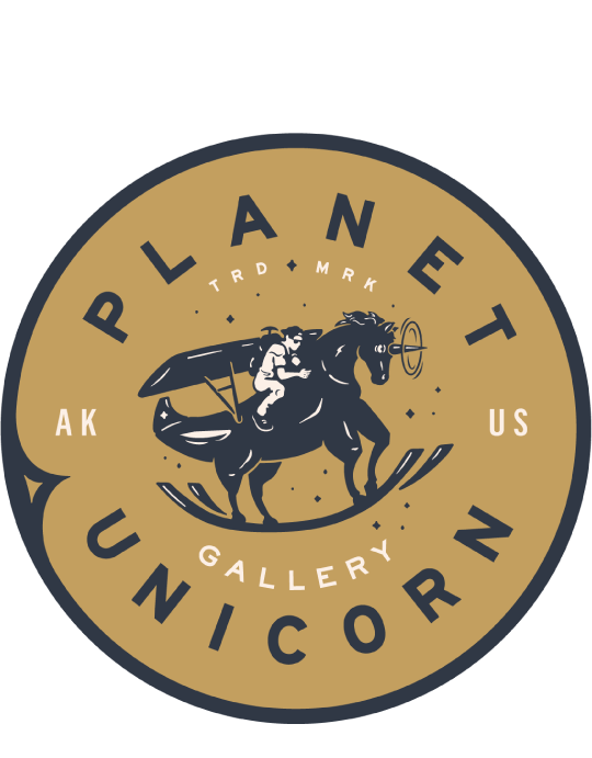 Modern Flying - Fine Art Print | Planet Unicorn™ // A Creative Storytelling Gallery