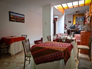 Pirwa Hostel Nazca Dining Room