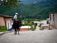 Travel Photo: Honduras - Cowboy in Copan Ruinas