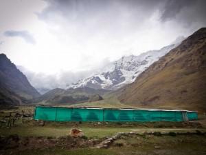 Base Camp on the Salkantay Hike with Rasgos del Peru