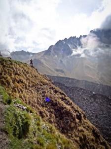 Salkantay Trek - Bo Near the Salkantay Pass