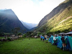 Salkantay Trek - Chaullay Camp Site