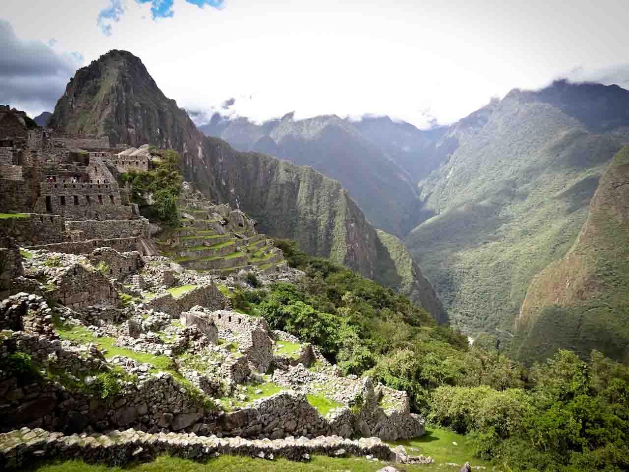 Machu Picchu and Huayna Picchu