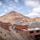 Cerro Rico in Potosi, Bolivia