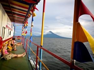 Boat from Granada to Ometepe