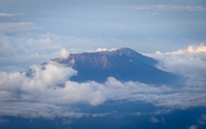 Landing in Bali