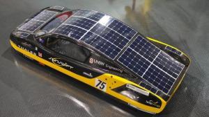 solar race car