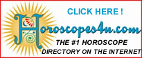 Welcome to the Internet's Premier Horoscope Directory!
