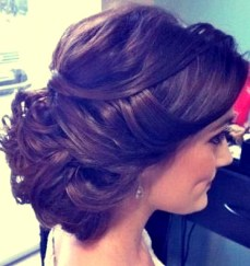 Indian bridal hairstyles updo's 17