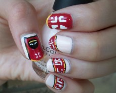 Nail art designs inspired by games 09