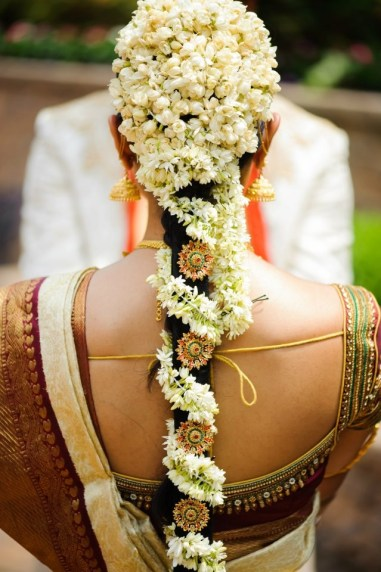 South Indian Bridal Hairstyles 07